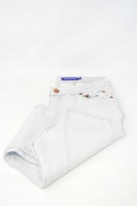 Trousers Man Jeckerson Gray Size 28