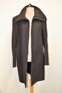Coat Man Costume National Gray Long Size 50