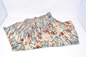Skirt Butx& Co Pure Silk Size 40 Fantasy Animalier