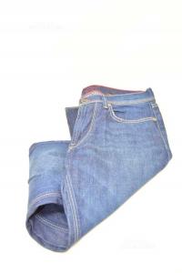 Jeans Man Gas Size.w30 L34 Cm
