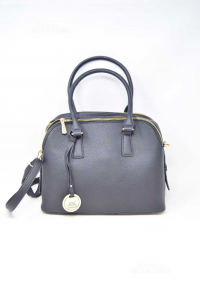 Bag Woman Black Jgl In Faux Leather With Shoulder Strap New