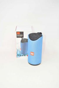 Cassa Wireless Portable TG113 NUOVA Colore Azzurro