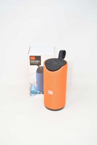 Cassa Wireless Portable TG113 NUOVA Colore Arancione