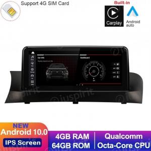 ANDROID 10 navigatore per BMW X3 F25 2010 2011 2012 Sistema CIC 10.25 pollici CarPlay Android Auto WI-FI GPS 4G LTE Bluetooth 4GB RAM 64GB ROM