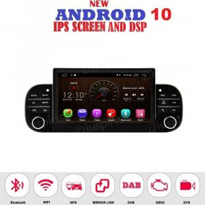 ANDROID autoradio navigatore per Fiat Panda 2013-2020 CarPlay GPS USB WI-FI Bluetooth Mirrorlink