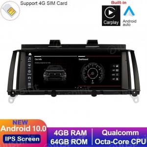 ANDROID 10 navigatore per BMW X3 F25 per BMW X4 F26 2016-2018 Sistema EVO 8.8 pollici CarPlay Android Auto WI-FI GPS 4G LTE Bluetooth 4GB RAM 64GB ROM