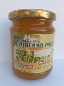 Miele d'Arancio 250g. Azienda Agricola Catalano Pasquale Catona (RC)