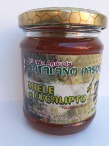 Miele d'Eucalipto 250g. Azienda Agricola Catalano Pasquale Catona (RC)