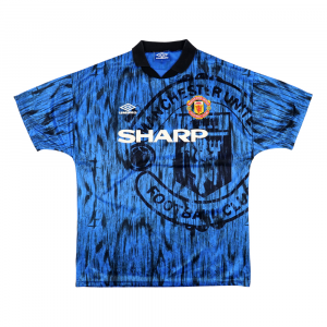 1992-93 Manchester United Away Shirt L (Top)