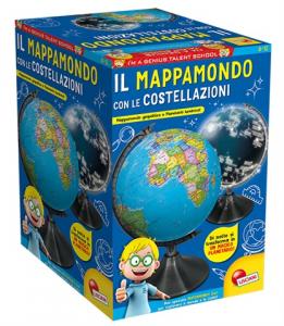 I'M A GENIUS KIDS IL MAPPAMONDO CON LE COSTELLAZIONI