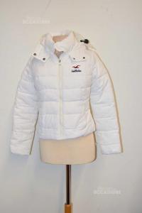 Jacket Woman Hollister Size S White