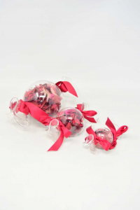 Tris Candy In Glass With Pour Purri