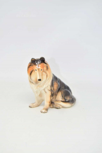 Statue Dog Lassie 14 Cm Height