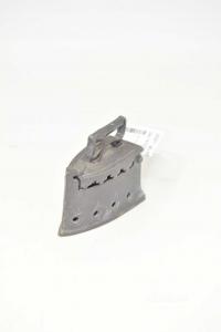 Mini Iron In Pewter 7.5 Cm