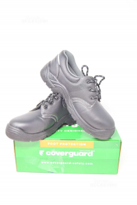 Shoes Accident Prevention New Coverguard Black N° 42