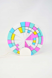 Wall Lamp To Hang With Glass Colorful 24 Cm Design Toffoli Working
