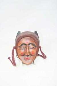 Wooden Mask 18cm