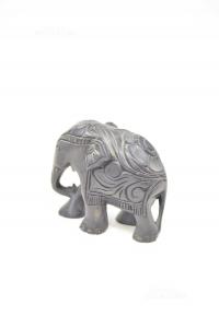 Elephant Wood Black African H 10 Cm