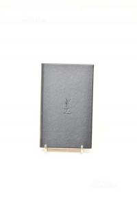 Diaries Black Yves Saint Laurent 8.5x15 Cm