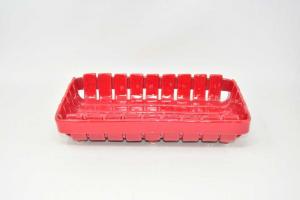 Ceramic Basketball Red 29x17x7 Cm