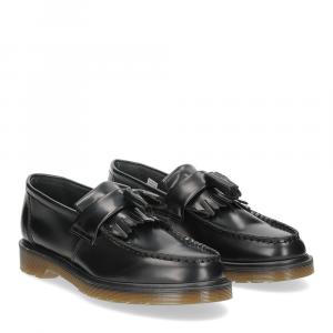 Dr. Martens College Adrian black polished smooth