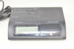 Radio Allarm Clock Sony Model Icf-c303