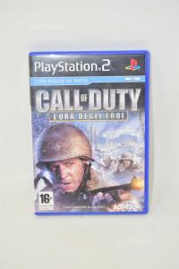 Videogioco Per Ps2 Call Of Duty Lora Degli Eroi
