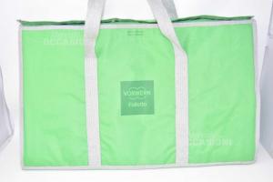 Duffle Bag Green Holder Accessories Folletto Vorwerk