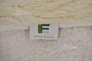 Coprimaterasso 100% Wool Merinos Double Effedue