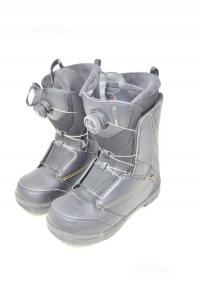Snowboard Boots Woman Black Salomon Pearl Boa N° 40.5 Used Very Little