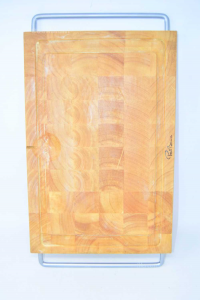 Cutting Board With 2 Handles Steel Paul Bocuse Original