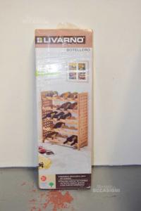 Holder Wooden Bottles New Brand Livarno