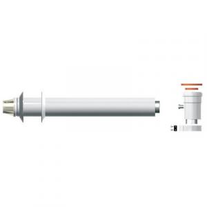 KIT SCARICO COASSIALE 60/100 PARTENZA VT L. 750 mm 750