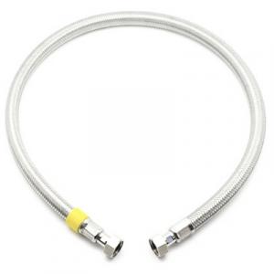 FLESSIBILE PER GAS FF INOX SICURGAS NG cm 100 - 1/2x1/2