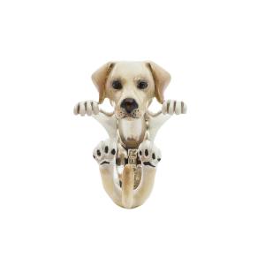 ANELLO HUG  LABRADOR RETRIEVER  SMALTO SMALTO DOG FEVER