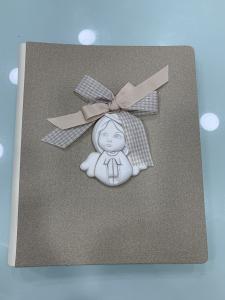 Album foto Shan con decorazioni in ceramica con angelo cod. G002.10