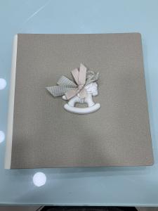 Album foto Shan con decorazioni in ceramica cod. G002.14