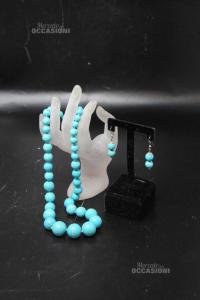 Necklace Turchese + Earrings