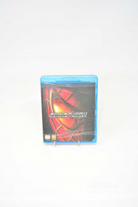 Dvd Blue Ray Spiderman Trilogy New Sealed