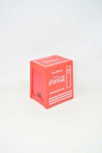 Portasalviette Coca Cola Plastic Red