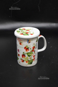 Cup Herbal Tea Fantasy Fragole