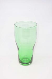 Vase Design Maria Vinka Glass Green Height 31 Cm