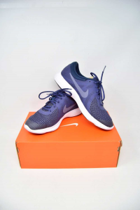 Shoes From Gymnastics Nike Blue N°.40