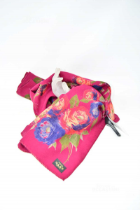 Foulard Motives Color Marc Flowers 100 & Wool