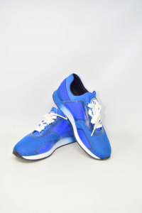 Shoes Man Trussardi Jeans N° 42 Blue New