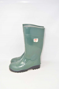 Boots Accident Prevention Green With Bit Iron Issa Line