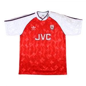 1990-92 Arsenal Home Shirt L (Top)