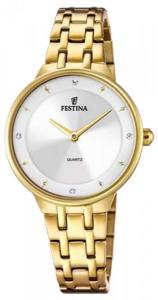 Orologio donna Festina Mademoiselle con cinturino acciaio dorato F20601/1