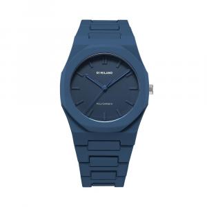 D1 MILANO orologi, NAVY BLUE POLYCARBON 40.5 MM