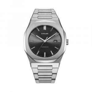 D1 MILANO orologio, BLACK AUTOMATIC BRACELET 41.5 MM